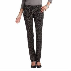 Loft Modern Straight Polka Dot Jeans Sz 28/6P